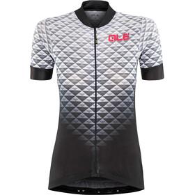 Alé Cycling Solid Hexa SS Jersey Damen black-white